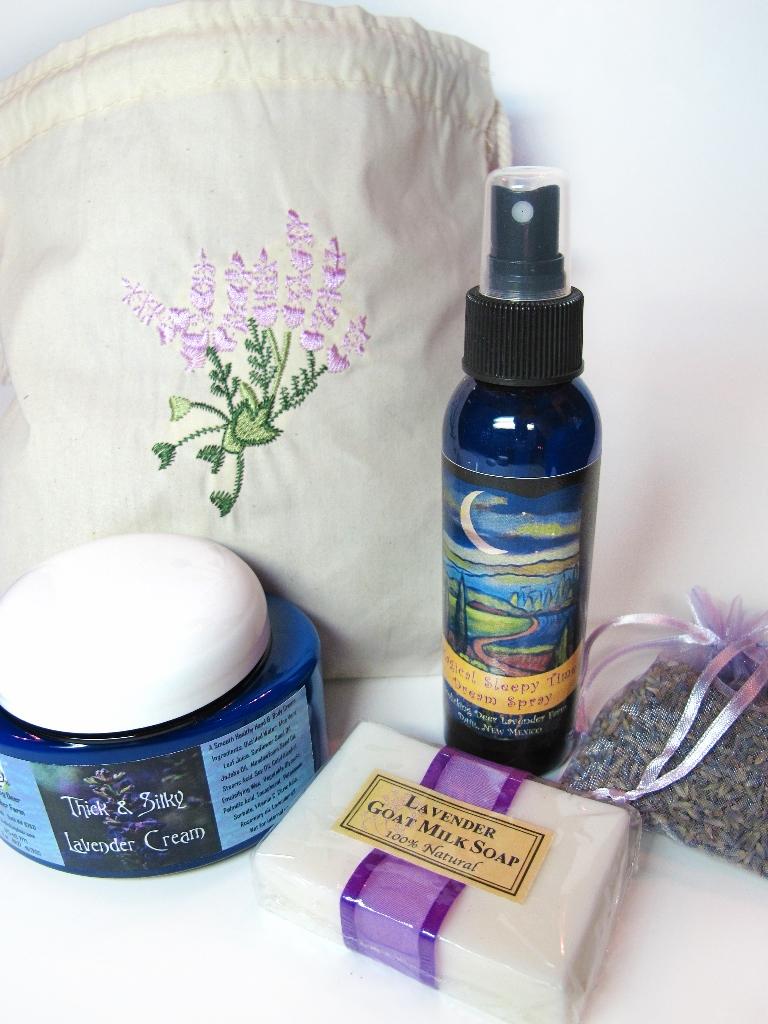 Lavender Gift Set with bag