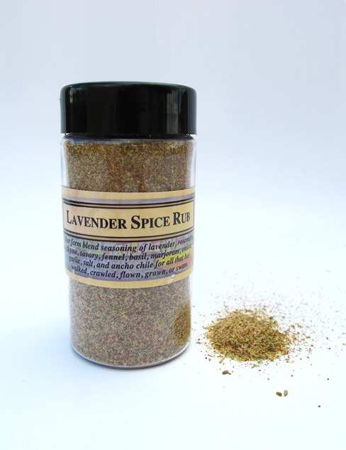 Lavender Spice Rub